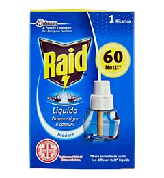 RAID LIQUIDO RICARICA 60 NOTTI A.398Raid