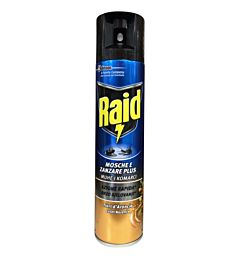 RAID SPRAY MOS&ZAN 400ML ARANCIO A.361Raid