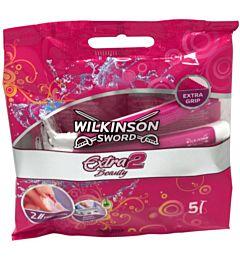 WILK. RASOIO EXTRA 2 BEAUTY COLORS X5