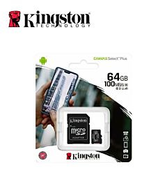 KINGSTON MICRO SD CARD CLASSE 10 64GB