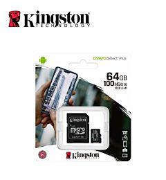 KINGSTON MICRO SD CARD CLASSE 10 64GB