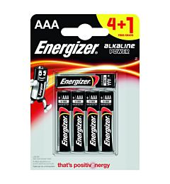 ENERGIZER POWER M/STILO AAA 4+1PZ