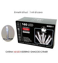 CATENA 160 LED X EST. GHIACCIO B/O C/TIMHappy Casa