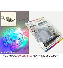 -FILO NUDO 20 LED B/O FLASH MULTICOLORHappy Casa