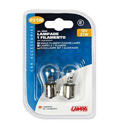 CP.LAMPADE 1 FILAM. 21W BA15SLampa