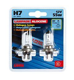 CP.LAMPADE H7 12V 55W TWIN    D/BLISTERLampa