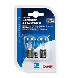 CP.LAMPADE P21/4W BAZ15D 12V  CLEARLampa