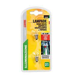 KIT 2 LAMPADINE (2X0,6W)Lampa