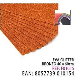 EVA 40X60CM GLITTER BRONZOHQ