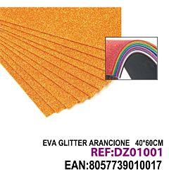 EVA GLITTER ARANCIONE 40*60CMHQ