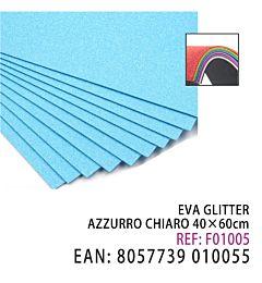 EVA GLITTER AZZURRO CHIARO 40*60CMHQ