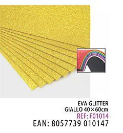 EVA GLITTER GIALLO 40*60CMHQ