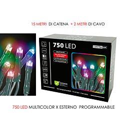 750 LUCI LED MULTICOLOR X EST. PROGVesti Casa