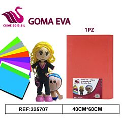 GOMMA CREPLA ROSSO 40*60Party Go