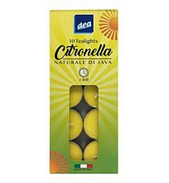 DEA CITRONELLA TEA LIGHTS 10PZDea