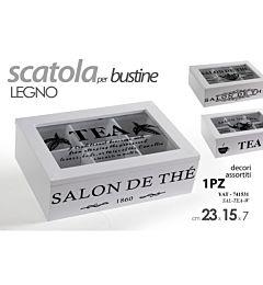 YAT/SCATOLA THE  BIA 23*15*7CM SAL-TEA-WGicos