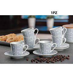 SERVIZIO CAFFE PORCELL 6PERSONE A2DAd Trend
