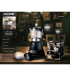 CAFFETIERA ELETTRICA 400W HM-5710 (1530)Hoomei