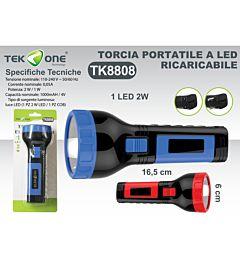 TORCIA LED PORTATILE 1 LED 2W