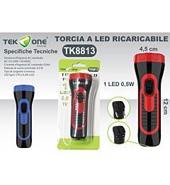 TORCIA LED PORTATILE 1LED 0.5W