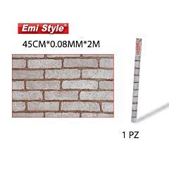 EMI STYLE CARTA DA PARATI AUTOADESIVA  45CM*0.08MM*2M