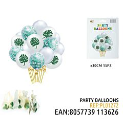 PARTY BALLOONS 30CM 15PZDz