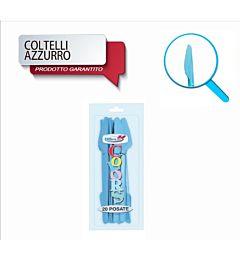 COLTELLI COMPACT 20PZ AZZURRO DODopla