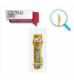 COLTELLI COMPACT 20PZ ORO DODopla