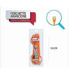 FORCHETTE COMPACT 20PZ ARANCIO DODopla