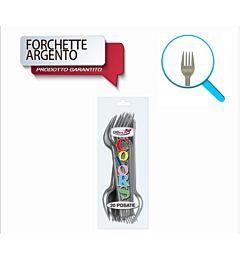 FORCHETTE COMPACT 20PZ ARGENTO DODopla