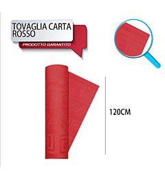 TOVAG CARTA ROTOLO MT 1,20X7 ROSSO DODopla