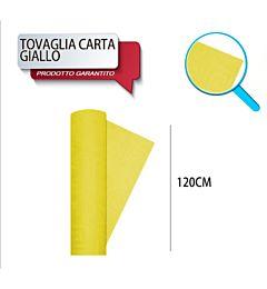 TOVAG CARTA ROTOLO MT 1,20X7 GIALLO DODopla