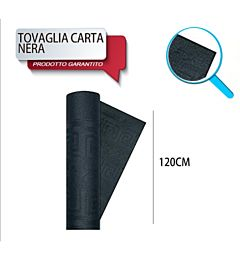 TOVAG CARTA ROTOLO MT 1,20X7 NERO DODopla