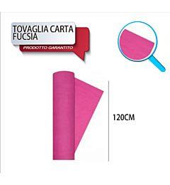 TOVAG CARTA ROTOLO MT 1,20X7 ROSA DODopla