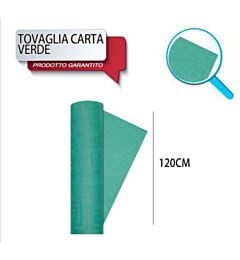 TOVAG CARTA ROTOLO MT 1,20X7 VERDE DODopla