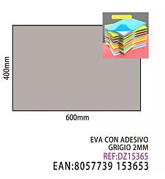 EVA CON ADESIVO GRIGIO 2MMDz