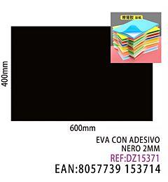EVA CON ADESIVO NERO 2MMDz