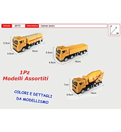 CAMION LAVORO IN DISPLAY 9 PZToys Garden