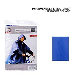 IMPERMEABILE PLASTICA MOTO/BICI 132X203CM
