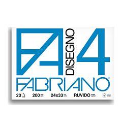 BLOCCO FABRIANO  597 - F4 24X33 FG.20 RUVIDO