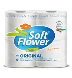 IGIENICA 4 ROTOLI 3 VELI SOFT FLOWER