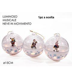 PALLA B/O LU/SUO/MOV BIANCA 3ASS DISPLAY