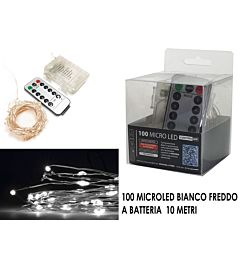 -CATENA 100 MICROLED C/TELEC. B.FREDDO