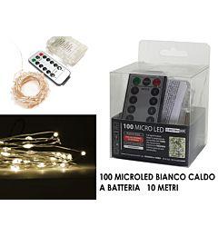 -CATENA 100 MICROLED C/TELEC. B.CALDO