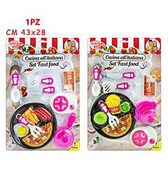 GRANDE CHEF - SET FAST FOOD 2 MDL
