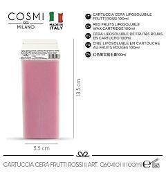 COSMI CERA CARTUCCIA LIPO FRUTTI ROSSI 100ML