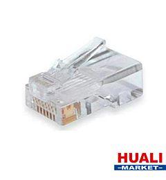CA-1052 CONNETTORE PLUG RETE LAN 8P8C PACK10