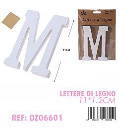 LETTERE DI LEGNO M