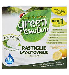 GREEN EMOTION TABS LAVASTOVIGLIE 16PZ