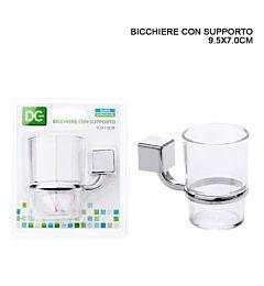 DC CASA BICCHIERE C/SUPPORTO 9.5X7CM